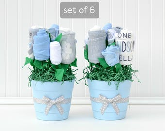 Boy Baby Shower Ideas, Baby Boy Shower Centerpieces, Unique Decorations,  Flower Shower Centerpieces