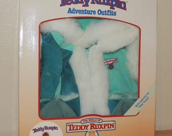 TEDDY RUXPIN Winter Outfit MINT in Box