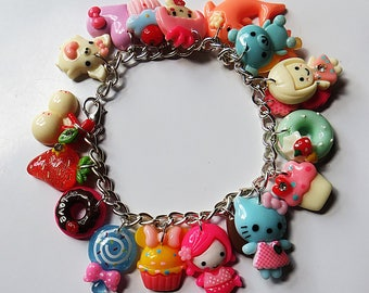 Kawaii cute charms bracelet