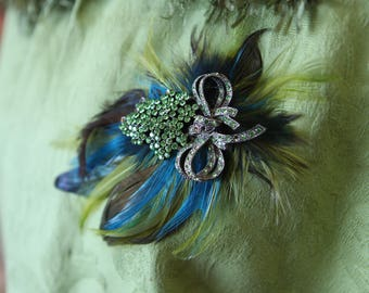Feather Brooch (Magnetic)