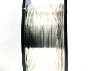 26 Gauge Sterling Silver Dead Soft Wire  - 1 foot or more for Discount -as low as .65 cents per ft!