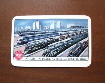 1946 Missouri Pacific Lines Pocket Card Calendar