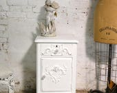 Painted Cottage Chic Shabby Romantic French Night Table NT910