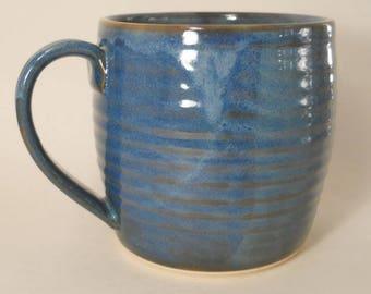 40 Plus Ounce Mug Handmade Stoneware Pottery Unique Large Mug #170662