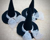 Witch Hat | Primitive Witch Hat | Witch Hat Bowl Fillers | Conical Hat | Halloween Decor | Witch hat ornaments | Primitive Halloween decor