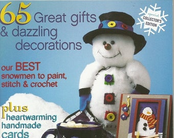 "Crafts Magazine ""Snowmen"" 2003 Publication"