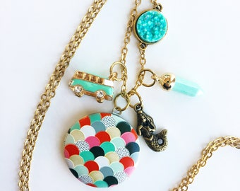 Beach Vibes Locket Collection Necklace