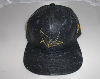 Snapback Flat-Brim Hat - Crane (One-of-a-kind)