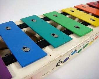 Fisher Price Xylophone Vintage Children's Xylophone