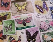 Juliana special listing, 30  Butterfly, bird and flower Stamps,
