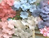 Hydrangea flower beads, Vintage Beads, Flowers beads, Pink Flowers, 18mm flower beads, Acrylic pansy Flowers, Gray Beads Supplies, #B145