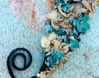 Ringlet Flower Headband
