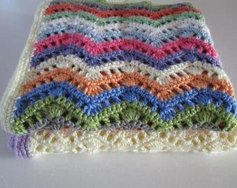 Crochet Pattern, Crochet Afghan Pattern, Easy Crochet Blanket Pattern, Baby Blanket, Throw, PDF, Tutorial, Beginner, Haakpatroon, Haken