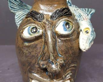 Nasty Fish Face Jug