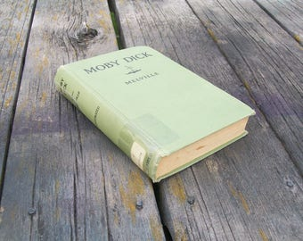 Vintage Book Moby Dick or The Whale by Herman Melville  1931