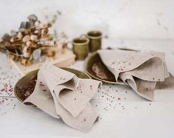 Natural linen napkins, grey linen napkins, linen napkins, cloth napkins, dinner napkins cloth, table napkins linen, wedding napkins cloth