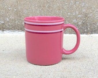 Vintage Pink Chromatics Stoneware Mug - Japan