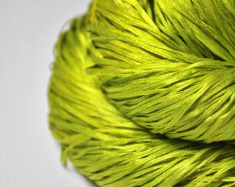 Blooming acorn - Silk Tape Lace Yarn - SUMMER EDITION