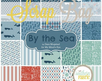 By the Sea - Scrap Bag - by Dani Dani Mogstad for Riley Blake Quilt Fabric