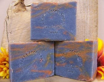 Sunset Lake Soap - All Natural Cold Processed Soap ~  Vegan Soap