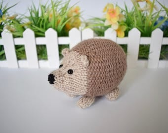 Kensington Hedgehog toy knitting patterns