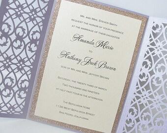 Wedding Invitations Invites Laser Cut