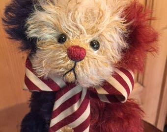 Patriotic: a handmade artist teddy bear from Jazzbears