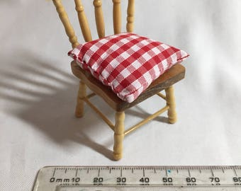 Handmade Dollshouse Miniature - Pine Kitchen Chair