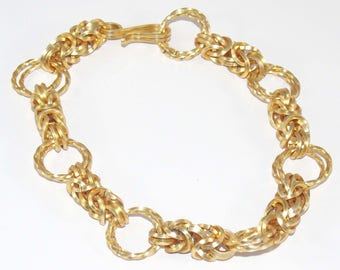 Golden Byzantine - Chainmaille Bracelet