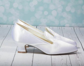 S A L E Costume Shoes - Vintage Shoes - Period Shoes - Vintage Style Shoes - Costume Marie Antoinette  - Dress Up Shoes - Downtown Abby Shoe