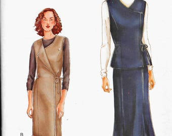 Vogue 7312  Misses Very Easy Fitted Vest or Jumper, Skirt Size 18, 20, 22  Uncut Sewing Pattern