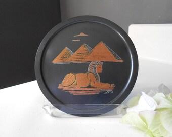 Pyramid & Sphinx (EL-Shami) Wall Decor Plate