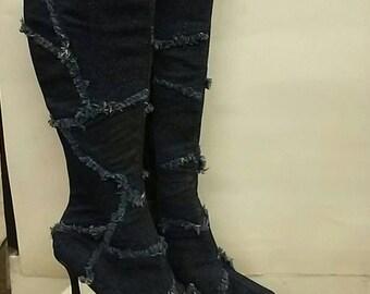 Ladies high heel boots