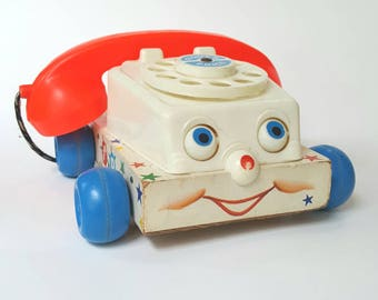 Vtg Fisher Price chatter phone