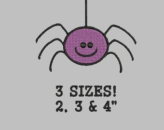 """Buy 1 Get 1 Free!  Spider Embroidery Design Halloween Embroidery Design Mini Spider Embroidery Design Small Spider Embroidery Pattern 2,3&4"""""""