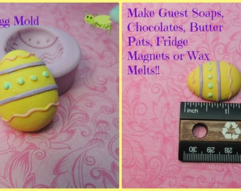 Easter Egg Molds, Silicone Molds, Egg Mold, Soap Egg Mold, Chocolate Mold, Wax, Polymer Clay Molds, Egg Molds, Easter Egg Molds, Fondant