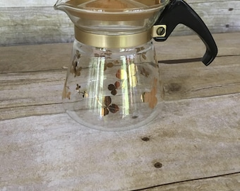 Vintage Pyrex coffee pot