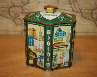 Holy Land Souvenir Tin - item #2562
