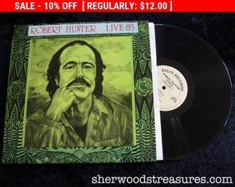 August Vinyl Blow Out 10% OFF Already Low Prices Robert Hunter 85 Grateful Dead Lyricist Original Vintage Vinyl Lp Record Stereo  Very Clean