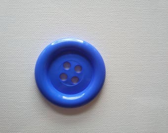 Sale - Extra Large Button - Blue was 3.00 now 1.50