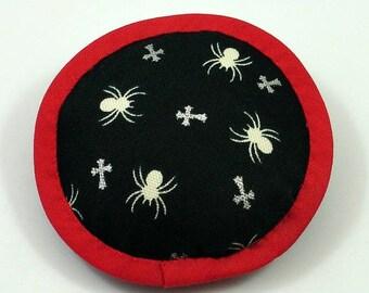 Catnip Spiders, Spider Catnip Toy, Halloween Cat Toys, Cat Halloween, Spider Pillow, No Fur Catnip Toys, California-made, SPIDER CROSSING