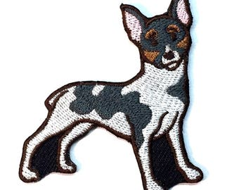 Iron on Patch Rat Terrier No Name