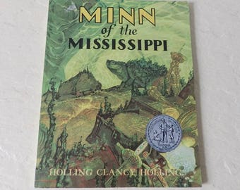 Children's Book: MINN of the Mississippi, Holling C. Holling, New Berry Honor Book, 1979. Like New