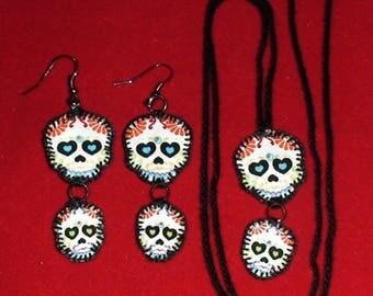Halloween, Quilted Skull Set (HSS08)
