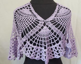 Wedding shawl - Mothers Day shawl - custom made bridal accessory - bridesmaid wrap - flower girl shawl