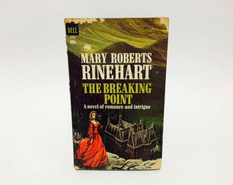 Vintage Gothic Romance Book The Breaking Point by Mary Roberts Rinehart 1966 Paperback
