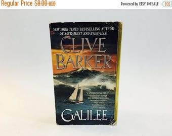 SUMMER BLOWOUT Vintage Book Galilee by Clive Barker 1999 First Edition Paperback