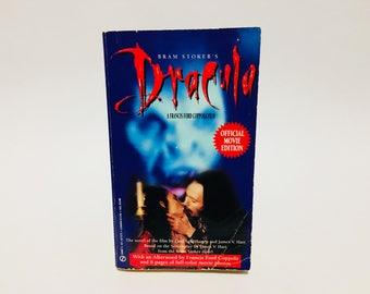 Vintage Horror Book Bram Stoker's Dracula Film Novelization 1992 Paperback Coppola