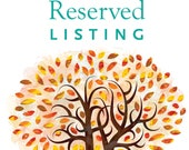 Reserved listing for Jessica & Ryan