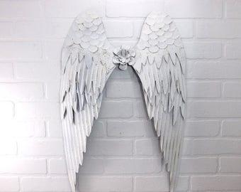 ON SALE White Angel Wings /Angel Wings / Wall Angel Wing Decor / Guardian Angel / Choice Color / Spiritual Decor